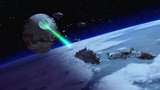 The Death Star II malfunctions (again), unleashing a wave of stupid...
