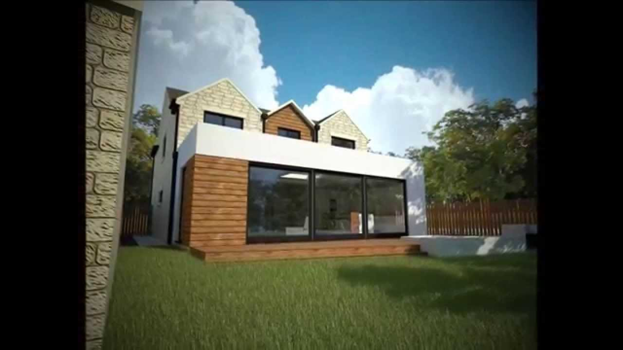 Modern / Contemporary House Extension Ideas - YouTube