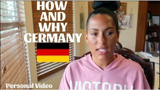 HOW & WHY I MOVED TO GERMANY/STARTED YOUTUBE