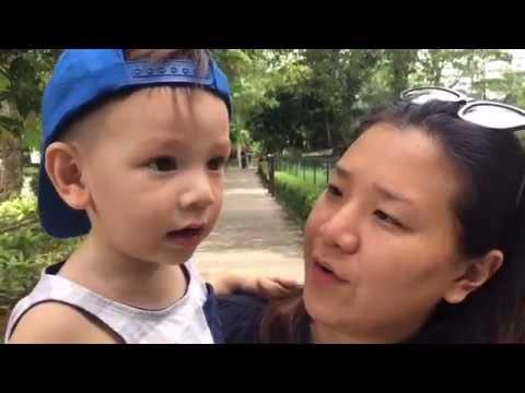 Tyler's First Trip to Zoo Negara, Kuala Lumpur
