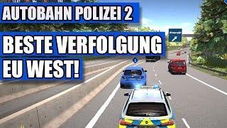 Autobahn Polizei Simulator 2 #07 - Beste Verfolgungsjagd EU West