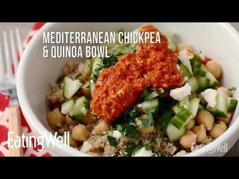Mediterranean Chickpea & Quinoa Bowl | EatingWell
