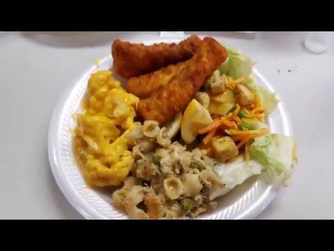 St john 39 s lenten fish fry in peplin wi youtube for Cliffords fish fry