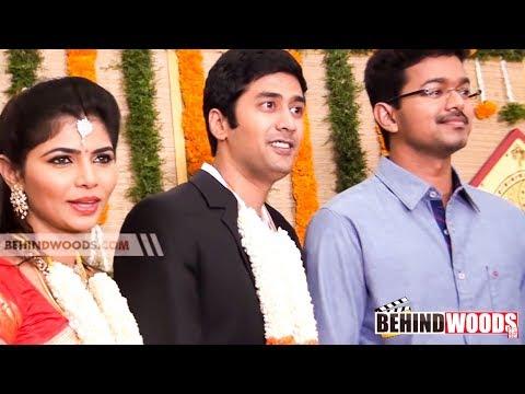 Chinmayee - Rahul Wedding Reception | Vijay | Karthi | Shiva | AR Murugadoss | Gautham Menon - BW