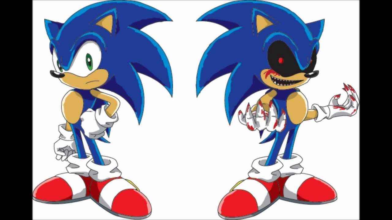 Sonic exe [Creepypasta] Drawing