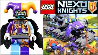 Лего Нексо Найтс 70352 Штурмової руйнівник Джестро. Огляд LEGO Nexo Knights Jestro's Headquarters