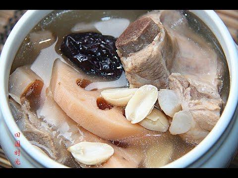 花生莲藕排骨汤(好喝的汤要注意的几个细节)