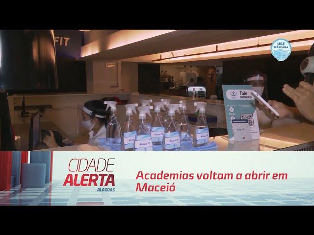 Academias voltam a abrir em Maceió