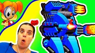 БолтушкА ВеселушкА красные синие и золотые Роботы в Супер Мехи! #184 ИГРЫ и Прохождения для ДЕТЕЙ
