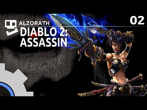 diablo-2:-stupid-builds-[2]:-spin-cycle-[-blade-fury-assassin-|-gameplay-|-rpg-]