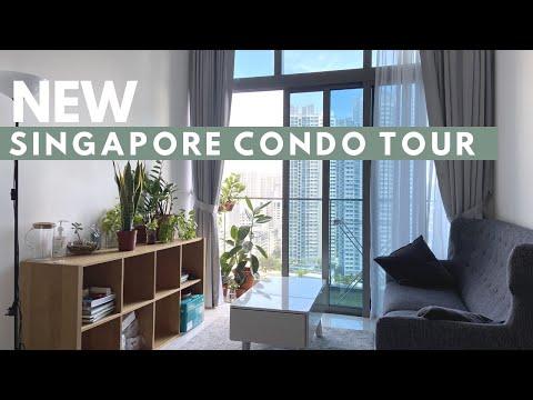 $2,800 SGD 2bed & 1bath condo tour in Singapore | US expat