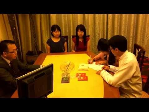 PT & Khai 21-04-2014 Singapore Register In Marriage