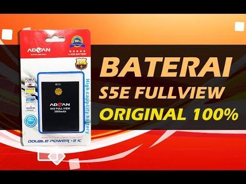 Harga dan Persamaan Baterai Advan S5E Full View Original  100% UNBOXING.