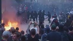 Gewaltexzesse beim Gipfel in Hamburg: Polizei ebnet G20-Politikern den Weg