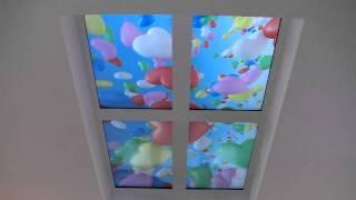видео 3д потолки - современные технологий в интерьере