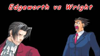 VG Arch Rivals 1 - Edgeworth vs Wright [Cornered, Lying Coldly…
