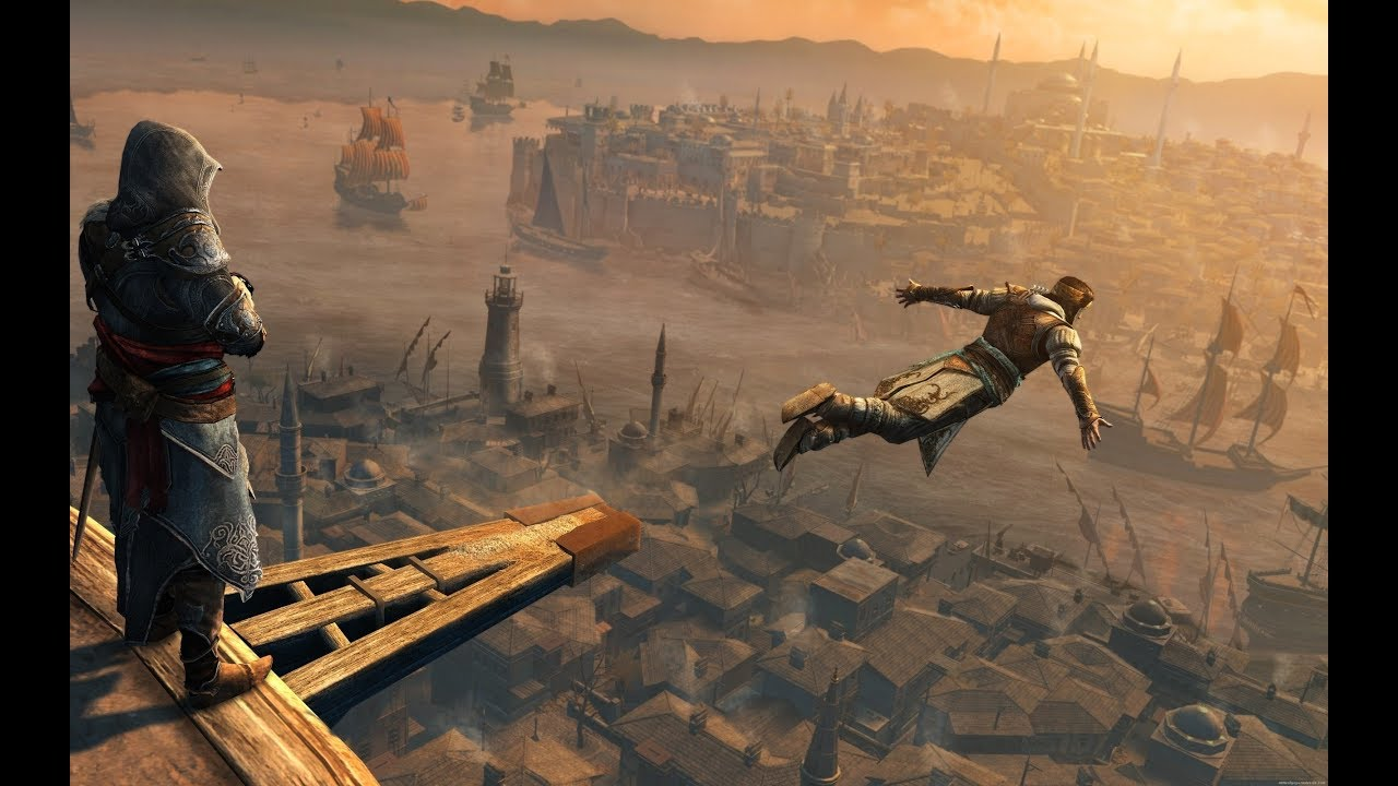 Assassin S Creed Leap Of Faith Compilation 2007 2017 Youtube