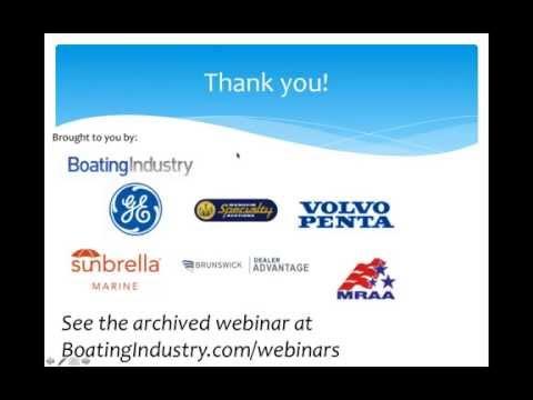 Boating Industry Reaching New Markets webinar