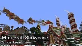 Minecraft Showcase: Gingerbread Town
