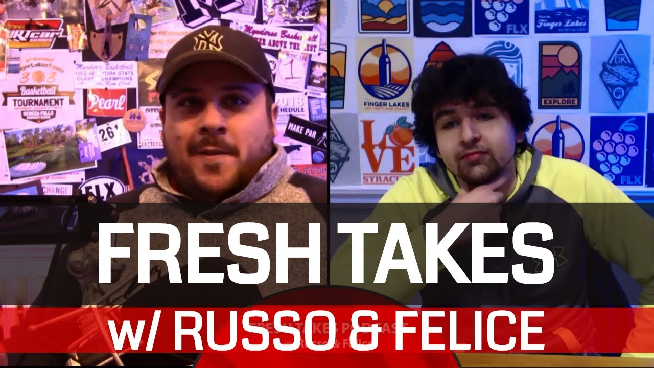 Super Bowl LIII match-up set & Masked Singer reaction .::. Fresh Takes w/ Russo & Felice 1/22/19
