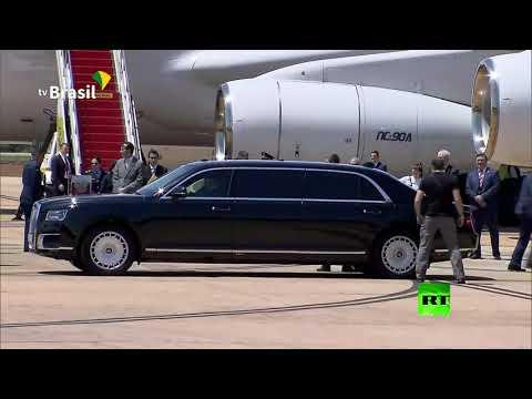 سيارة -أوروس- للرئيس بوتين بأرقام روسية في البرازيل  - نشر قبل 4 ساعة