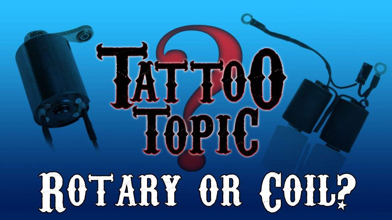 Tattoo machines, rotary vs coil?, page 1