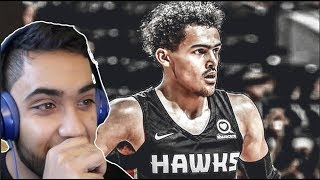 TRAE YOUNG NASTY 16 POINTS vs THE OKC THUNDER REACTION! EARLY SIGNS! HE CAN TAKE IT TO THE RIM!