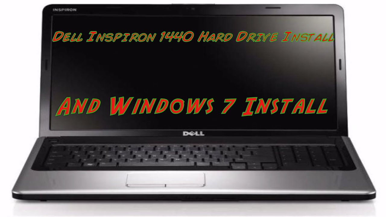 dell inspiron 1440 hdd replacement and windows 7 install youtube rh youtube com Dell Inspiron 530s Motherboard Specs dell inspiron 1440 user guide