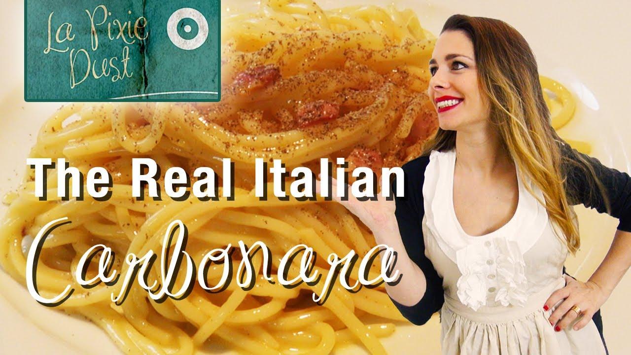 how to make spaghetti carbonara youtube