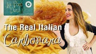 How To Make Spaghetti Alla Carbonara | Original Italian Recipe