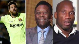 Pelé sur Mbappe/Messi fantastique/Drogba regrette l'OM/mourinho se passe de pogba/ol Monaco