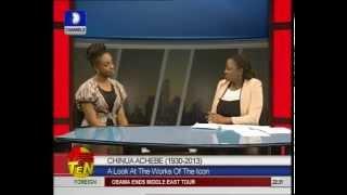 Chimamanda Adichie On Chinua Achebe