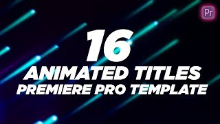 Download lagu 16 Minimal Titles and Lower Thirds Free Download Premiere Pro Templates MP3