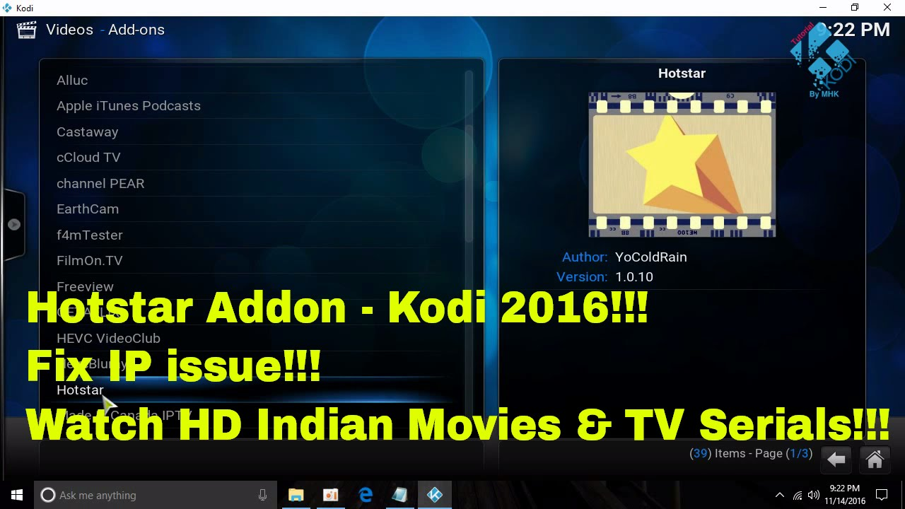 how to add no issue for kodi