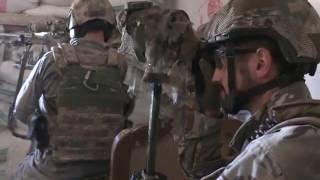 Российские снайперы работают в Сирии