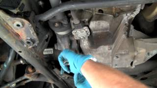 Changing Fluid in BMW 4WD Front Differential - Under Car Fluid Changes