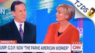 Rick Santorum Tries Bashing Bernie Gets SHUT DOWN HARD!