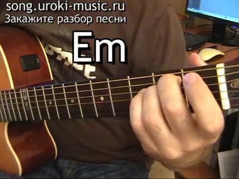 аккорды для гитары обучение: