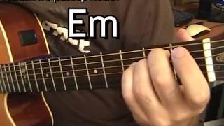 Уроки гитары: Нюша больно, аккорды. Обучение музыке