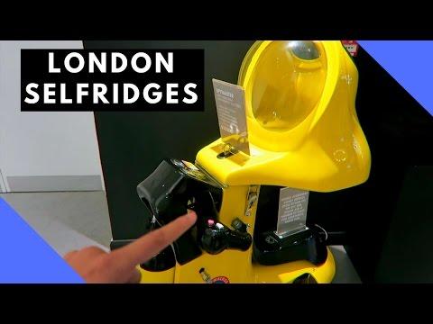Some Amazing tech in Selfridges London!