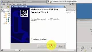 Belajar Administrasi Server (Vmware, Windows 2003 Server, WSFTP)