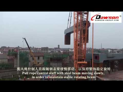 LARGE LIFTING PROJECT CONSTRUCTION STEPS