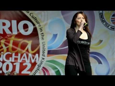 Jessa Zaragoza Live at Barrio Fiesta Birmingham U.K. 2012 by: Ed