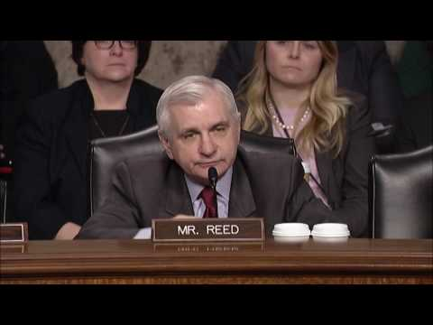 Ranking Member Reed Questions Secretary of Defense Nominee Gen  Mattis