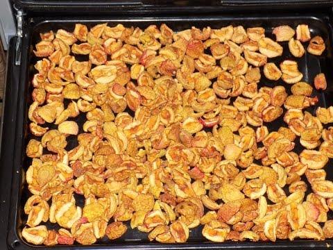 Как правильно сушить яблоки в домашних условиях на зиму
