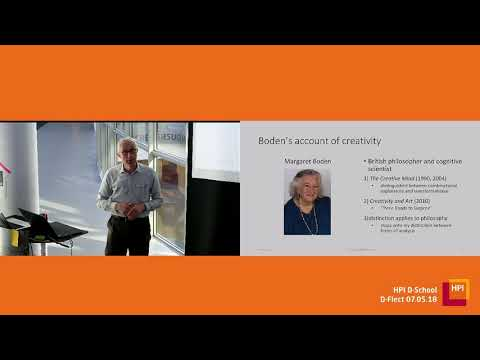 """D-Flect """"Creativity in Philosophy"""" with Prof. Dr. Michael Beaney"""