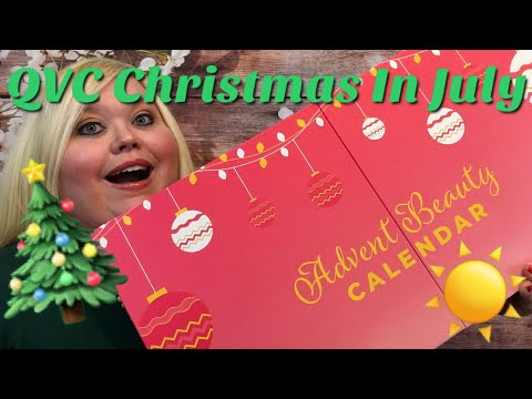 Christmas In July Qvc.Repeat Qvc Christmas In July Beauty Advent Calendar By