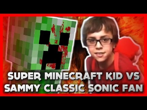 YTP Movie - Sammy Classic Sonic Fan vs Super Minecraft Kid