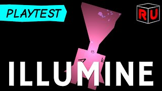 Illumine gameplay: Beautiful, abstract roguelike of discovery (PC let