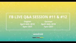 Live Q&A savedroid ICO #11